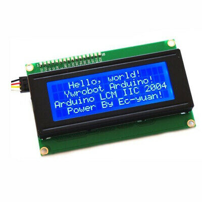 Blue Screen Display Serial IIC/I2C/TWI 2004 20X4 Character Module For Arduino