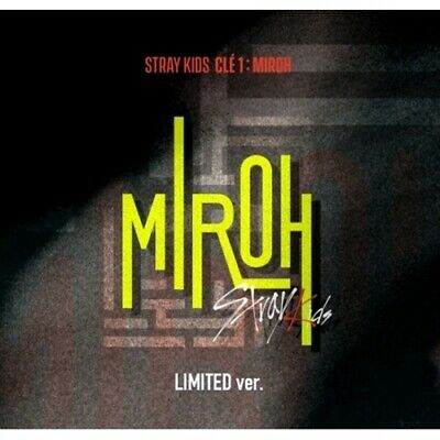 Stray Kids-[Cle 1:Miroh] Limited Album CD+PhotoBook+QR Card+Post+Gift+Pre-Order