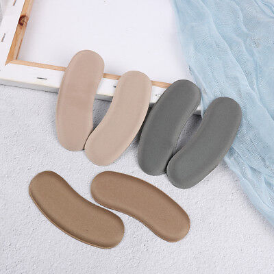 3Pairs Sticky Fabric Shoe Back Heel Inserts Insoles Pads Cushion Liner GripsSw