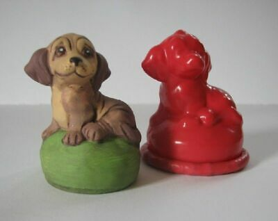 Latexgiessform Dog Puppy Spaniel Wauwau Dog 55 mm Mold