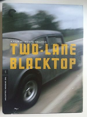 TWO-LANE BLACKTOP - James Taylor - Criterion Collection  - Region 1 DVD
