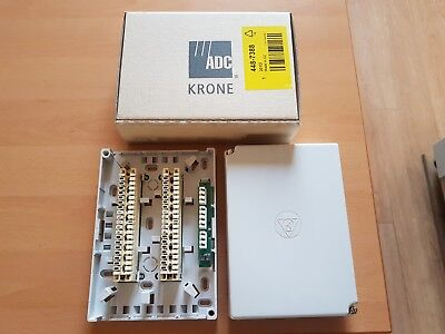 Krone 20 Terminal Junction Box grey 120x43x170mm
