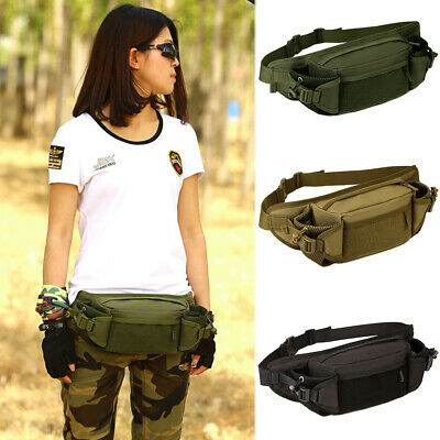 Tactical Waist Pack Military Molle Fanny Assault Hiking Camping Travel Bags