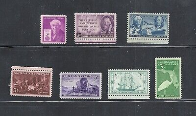 1947 - Commemorative Year Set - US Mint Stamps-Never Hinged- FREE SHIPPING