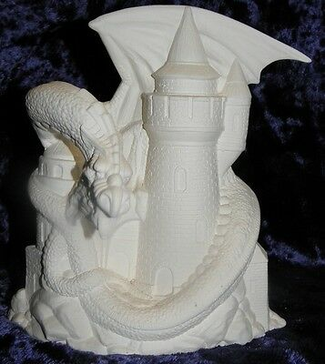 Ceramic Bisque Ready To Paint Large Fall Dragon
