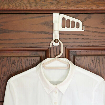 Kitchen Bathroom Over Door Hook Coat Towel Hanger Rack Shelf Hooks Holder B
