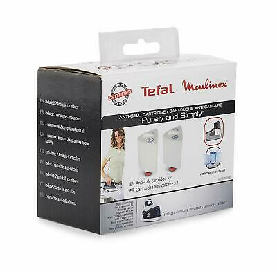 2x Tefal SV5010EO SV5020EO PURELY SIMPLY Anti Scale Filter Cartridges XD9030E0