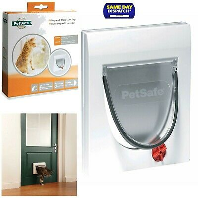 PetSafe Staywell Cat Flap Pet Door with Collar Entry & Locking