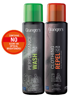 Granger's High Performance Wash Repel Waterproofing Spray For Outerwear
