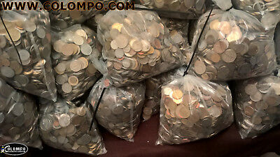 1.9 or 1 Kg Mixed Job Lot World Coins Diverse collection Multiple Countries UK