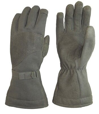 MASLEY US ARMY MILITARY GORETEX COLD WEATHER FLYERS GLOVES HANDSCHUHE L / Large