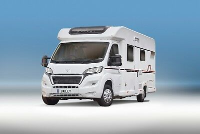 Motorhome Hire: 2018 Bailey 74-4 2-4 Berth/Free Wifi/Unlimited Mileage