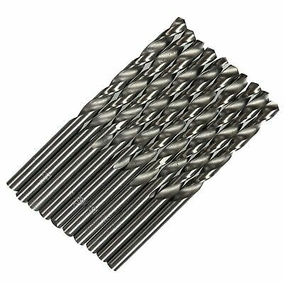4mm HSS Metric Steel Split Point Twist Drill Drills for Metal Steel Wood 10pk