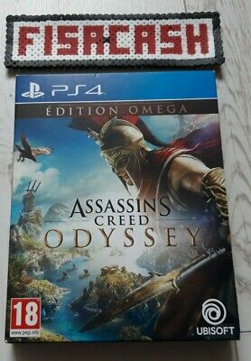 Assassin's Creed Odyssey Edition Omega - Jeux PS4 / Sans Notice