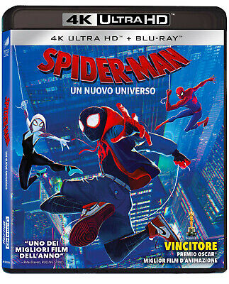 Spider-Man: Un nuovo universo (4K Ultra HD + Blu-Ray Disc)