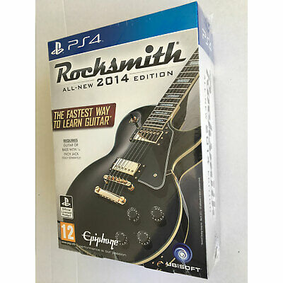 Rocksmith 2014 Edition with Real Tone Cable (PS4) from Ubisoft New and Sealed