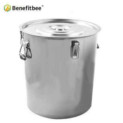 20L Honey Settling Stainless Steel Tank for Beekeeping Tools with Valve