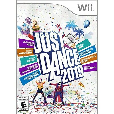 Just Dance 2019 Wii Standard Edition Video Game Collection Music Rhythm Genre