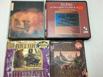 Lot: 4 TIM LAHAYE JERRY JENKINS Apocalyptic Fantasy Thriller AUDIO BOOKS CD