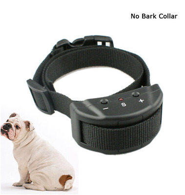 Petainer Electric Anti Bark No Barking Tone Shock Training Collar For Small Dog