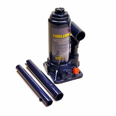 2ton Telescopic Hydraulic Bottle Jack Lifting Ram In Carry Case 2000kg Car TE4