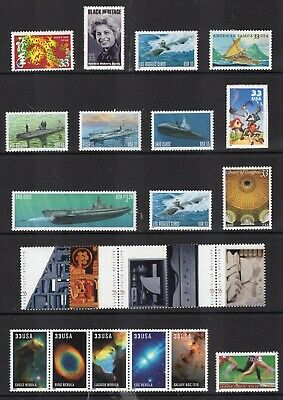 US 2000 NH Commemorative Year Version #1 (of 4)- 44 Stamps COMPARE-Free USA Ship