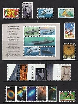 US 2000 NH Commemorative Year Version #2 (of 4)- 94 Stamps COMPARE-Free USA Ship