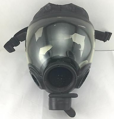MSA Millennium 40mm NATO CBRN / Riot Control Gas Mask Only Size Large #10051288