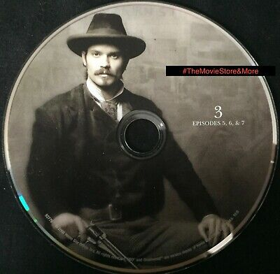 """DEADWOOD (HBO) - SEASON 2 * DISC 3 """"Replacement"""" DVD ~ *DISC ONLY (k)"""