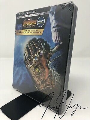 Avengers: Infinity War [SteelBook] (4K Ultra HD + Blu-ray + Digital)