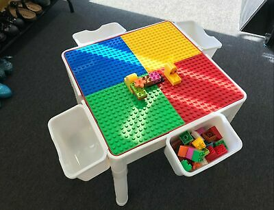 Table For Lego Duplo Size Building Blocks Storage Box For