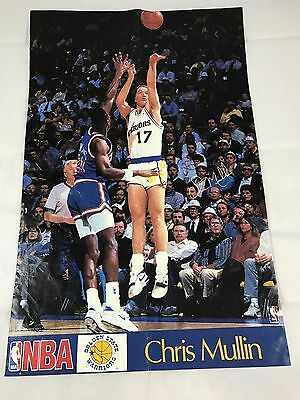168a71ca2eb8 CHRIS MULLIN  17 Golden State Warriors NBA Sand-Knit Practice Team ...