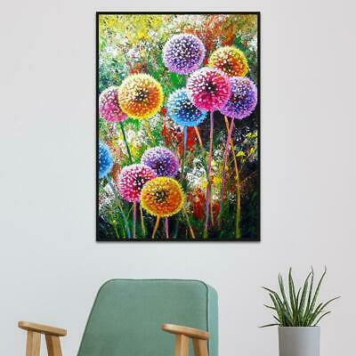 5D DIY Full Drill Diamond Painting Dandelion Cross Stitch Embroidery Mosaic Art
