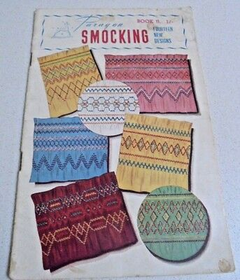 PARAGON Smocking Book II Book 2 FOURTEEN NEW DESIGNS Vintage Craft Booklet