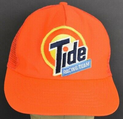 Orange Tide Racing Team vintage Mesh Trucker baseball hat cap Snapback