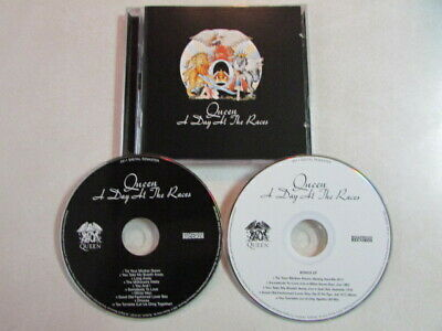 Queen A Day At The Races 2011 Hollywood Records 2Cd Remaster Bonus Disc Vg++