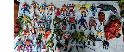 82-88 Vintage Masters of the Universe - He-Man MOTU Action Figure Stands