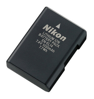 Original Nikon En-el14 Rechargeable Li-ion Battery for D3100 D5100