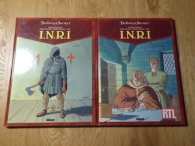 INRI - Triangle Secret - Tomes 1 et 2 - EO