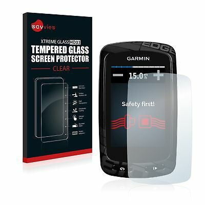 Garmin Edge 810 GPS , Savvies® Xtreme Glass HD33 Tempered Glass Screen Protector