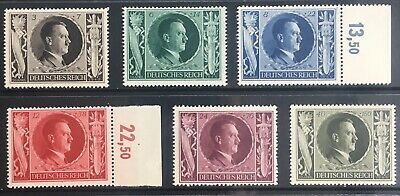 Germany Third Reich 1943 54th Birthday of Hitler MNH