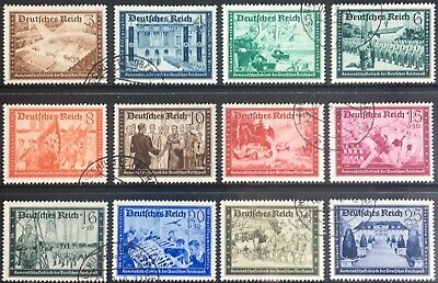 Germany Third Reich 1939 Postal Employees' & Hitler Culture Fund Used