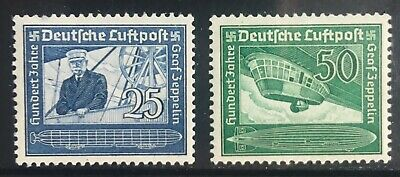 Germany Third Reich 1938 Birth Centenary of Ferdinand Count Zeppelin MLH