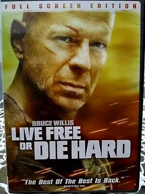 Live Free Or Die Hard movie, dvd, 2007, Full Screen Edition