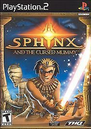 Sphinx and the Cursed Mummy (Sony PlayStation 2, 2003)