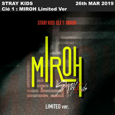 STRAY KIDS Clé 1 : MIROH Limited Ver. CD+Photobook+Photocard+Etc+Tracking Num
