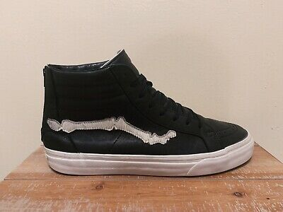 d71171ae1f Blends Vans Vault Sk8-Hi Reissue Zip LX 9.5 – Pony Hair Leather Black