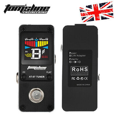 AROMA AT-07 Chromatic Tuner Effect Pedal Single Electric Guitar Effects E2R0