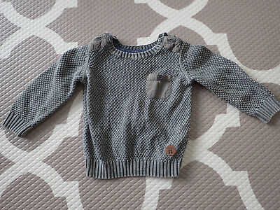 Target Boys 0 jumper army khaki green knit