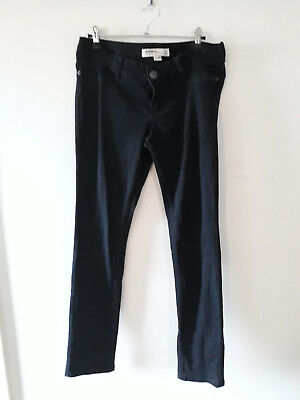 Just Jeans 10 maternity slim black jeans under bump
